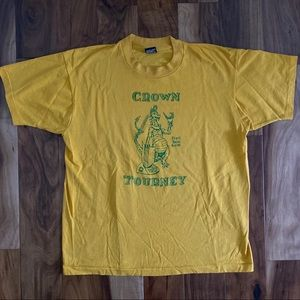 Vintage single stitch 90's tee XL Crown Tourney